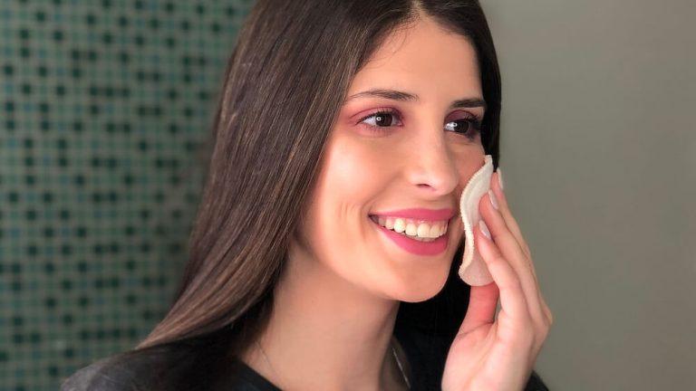 como desmaquilhar rosto