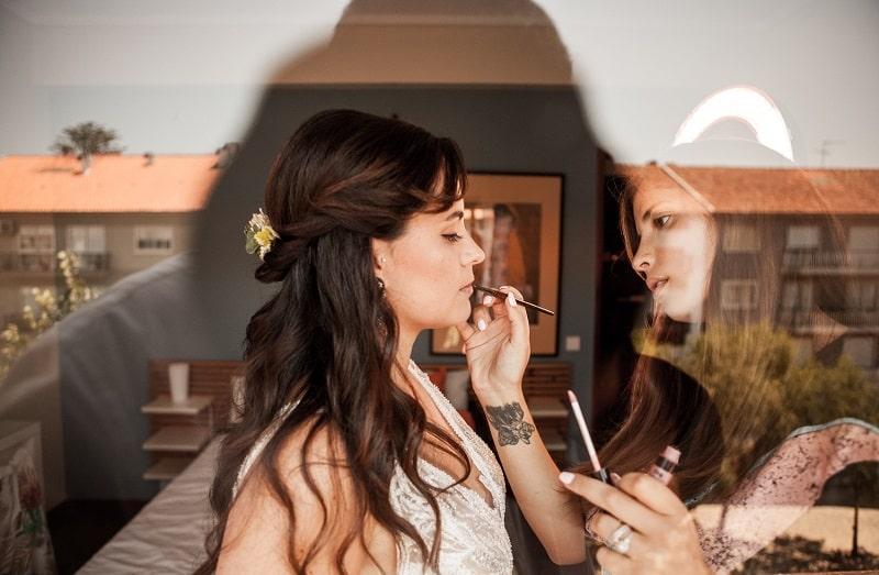 maquilhagem casamento francisca casqueira
