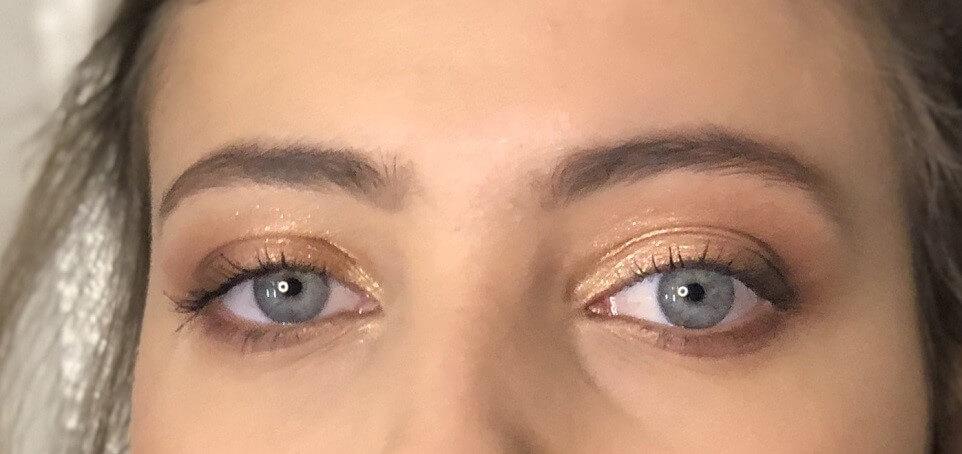 maquilhagem olhos azuis