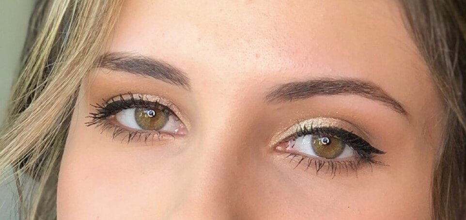 maquilhagem olhos verdes