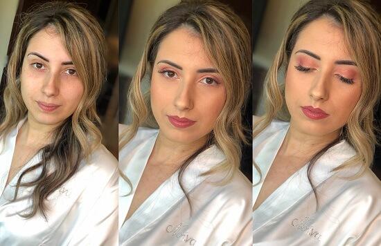 maquilhagem noiva olhos
