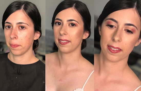 maquilhagem noiva simples