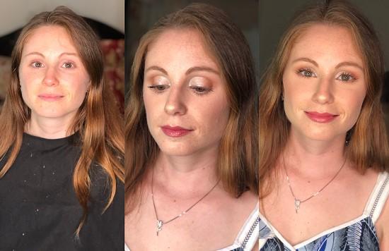 maquilhagem simples noiva