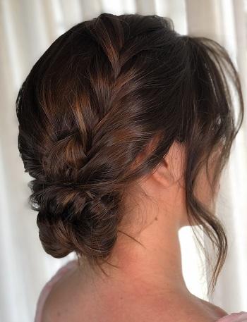 penteado cabelo apanhado