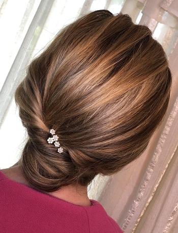 penteados de cabelo apanhado