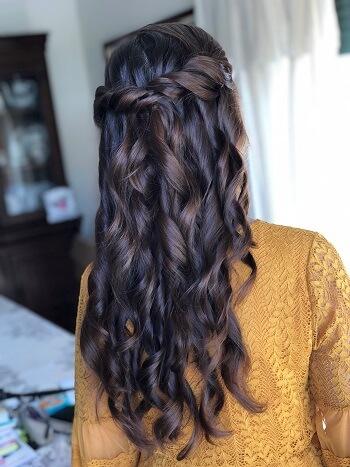 penteado para cerimonia